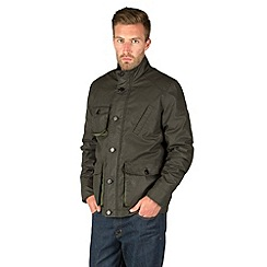 Racing Green - Friday Four Pocket Coated Cotton Jacket