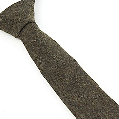 Racing Green - Loxley Plain Wool Blend Tie