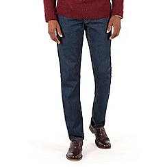 Racing Green - Dene Straight Fit Indigo Rinse Wash Jean