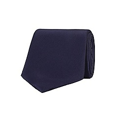 Stvdio by Jeff Banks - Plain Navy Tie