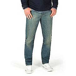 Racing Green - Dene Straight Fit Vinatge Tint Jeans