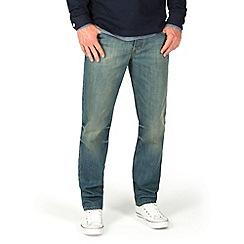 Racing Green - Dene Straight Fit Vinatge Tint Jeans
