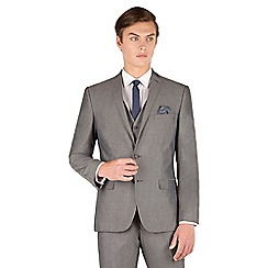 Red Herring - Silver grey tonic 2 button slim fit suit jacket