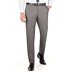 Red Herring - Silver grey tonic slim fit suit trouser