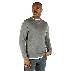 Racing Green - Wilder Quilted Crew Neck Jumper