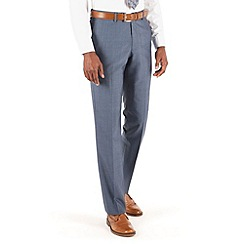Hammond & Co. by Patrick Grant - Light blue plain st james suit trouser