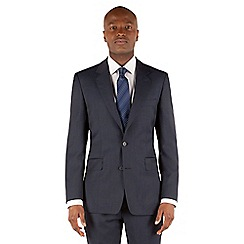 Hammond & Co. by Patrick Grant - Blue check 2 button front tailored fit st james suit