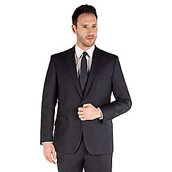 J by Jasper Conran - Navy stripe 2 button front tailored fit business suit