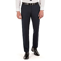 Red Herring - Navy twill slim fit suit trouser