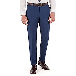 Red Herring - Bright blue micro slim fit suit trouser