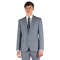 Red Herring - Light blue tonic slim fit 2 button jacket