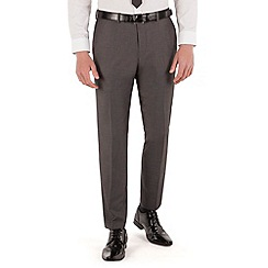 Red Herring - Mid grey pindot slim fit trouser