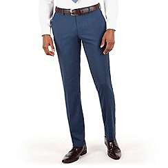 Red Herring - Blue textured slim fit trouser