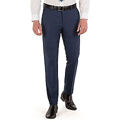 Red Herring - Blue tonal check slim fit trouser