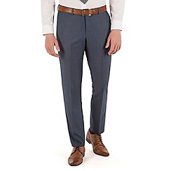 Red Herring - Blue semi plain slim fit trouser