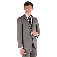 Red Herring - Cool grey check slim fit 2 button jacket