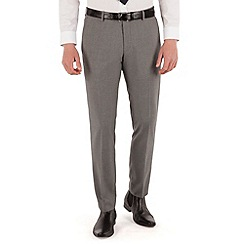 Red Herring - Cool grey check slim fit trouser