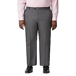 Centaur Big & Tall - Charcoal pick and pick big and tall suit trouser