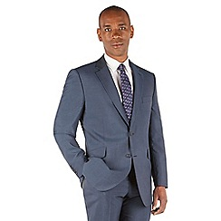 Centaur Big & Tall - Blue tonic big and tall 2 button regular fit suit jacket