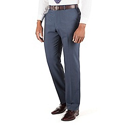 Centaur Big & Tall - Blue tonic big and tall suit trouser