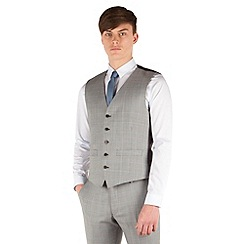 Ben Sherman - Prince of wales check super slim fit camden suit waistcoat