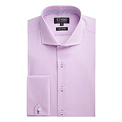 Stvdio by Jeff Banks - Pink Stripe Shirt