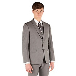 Red Herring - Grey puppytooth 2 button slim fit suit