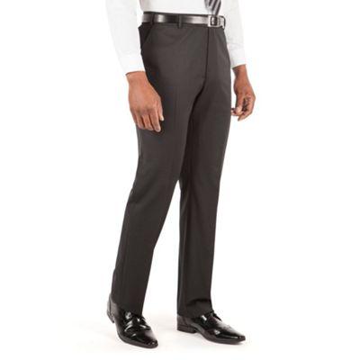 Centaur Big & Tall Black plain twill big and tall suit