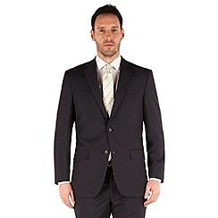 Pierre Cardin - Navy fine stripe regular fit 2 button suit
