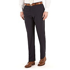 Pierre Cardin - Navy fine stripe regular fit trouser.
