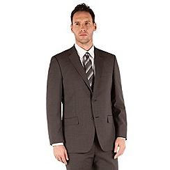 Pierre Cardin - Charcoal puppytooth regular fit 2 button suit