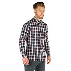 Racing Green - Tony Large Check Shirt
