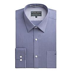 Racing Green - Walt Fine Stripe Tailored Fit Shirt