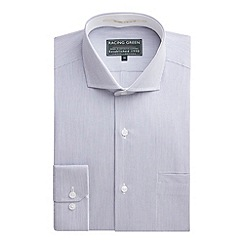 Racing Green - George Stripe Tailored Fit Formal Shirt