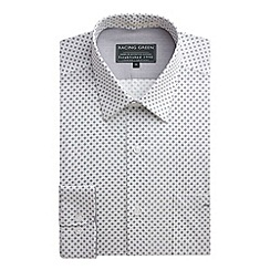 Racing Green - Erik Printed Tailored Fit Formal Shirt