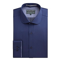 Racing Green - Peyton Dobby Tailored Fit Formal Shirt