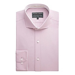 Racing Green - Smith Dobby Tailored Fit Formal Shirt