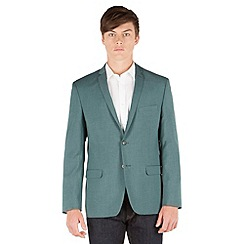 Red Herring - Green textured 2 button blazer jacket
