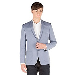 Red Herring - Pale blue semi plain blazer jacket