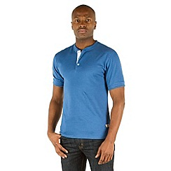 Racing Green - Pool Plain Henley Top