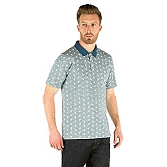 Racing Green - Salt Paisley Print Polo