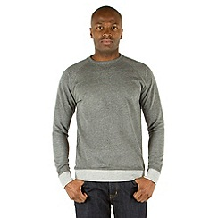 Racing Green - Malibu Stripe Hem Sweatshirt