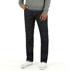 Racing Green - Dene Straight Fit Indigo Rinse Wash Rigid Jean