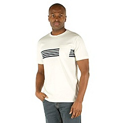 Racing Green - Russell Placement Stripe T-Shirt