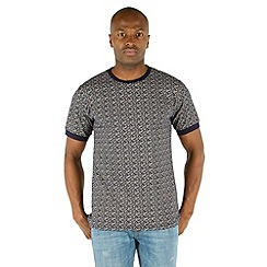 Racing Green - Amos All Over Printed T-Shirt