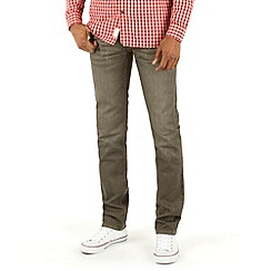 Racing Green - Marr Slim Grey Rinse Wash Stretch Jean
