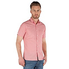 Racing Green - Portarit Short Sleeve Dobby Shirt