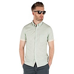Racing Green - saltaire short sleeve End On End shirt
