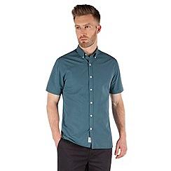 Racing Green - Cologne short sleeve Mini Check shirt