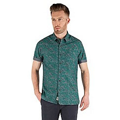 Racing Green - Lyric Short Sleeve Printed Shirt